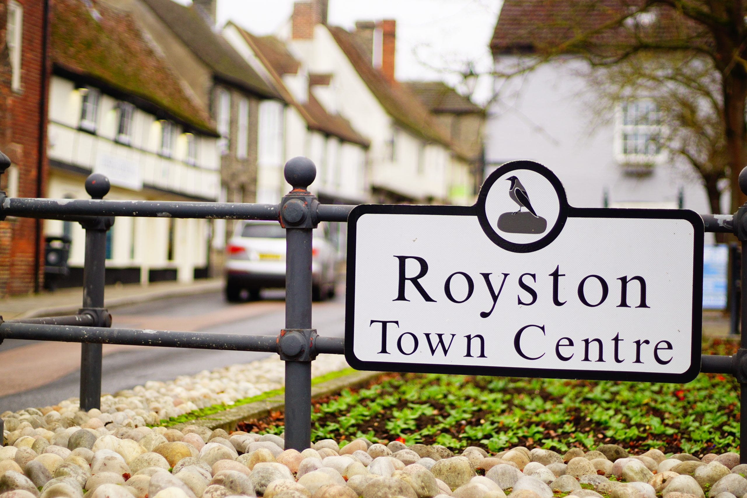Royston England during winter